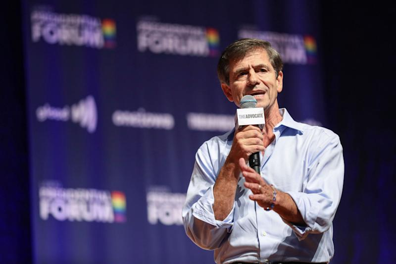 Democratic presidential candidate and former U.S. Rep. Joe Sestak speaks the One Iowa and GLAAD LGBTQ Presidential Forum in Cedar Rapids, Iowa, September 20, 2019.  (Photo: Scott Morgan / Reuters)