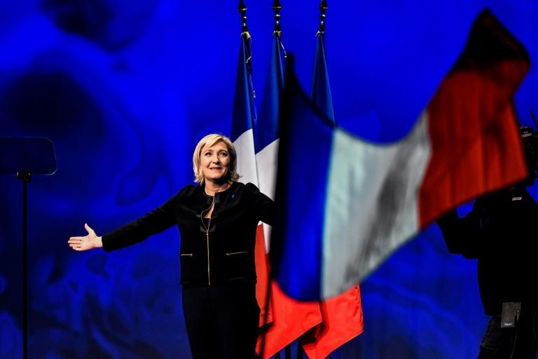 Marine Le Pen, head of the French far-right National Front, is tipped to get through to the second round of the presidential election in May