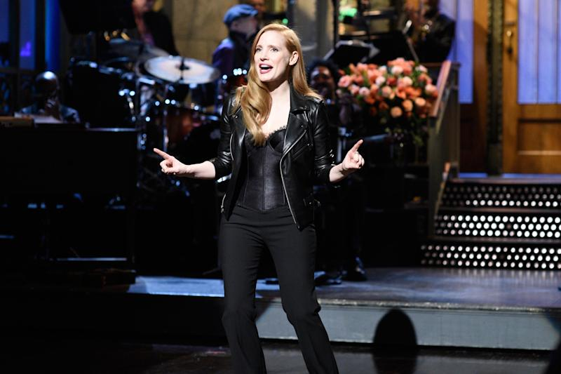 Saturday Night Live recap: Jessica Chastain