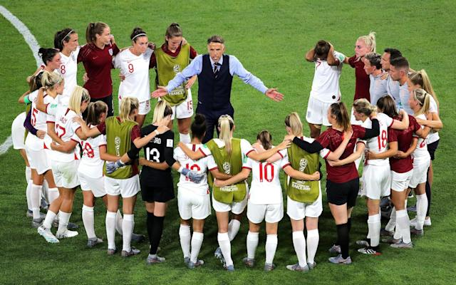 Poor show: Carly Telford was not impressed by the way France hosted the World Cup - PA
