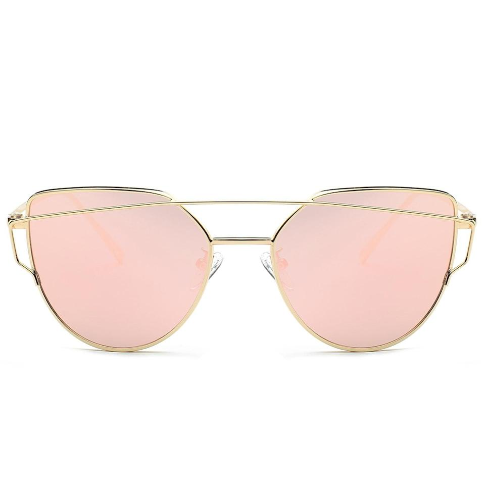 <p>Mom will always be in need of <span>Cat Eye Mirrored Sunglasses</span> ($14) no matter what season it is.</p>