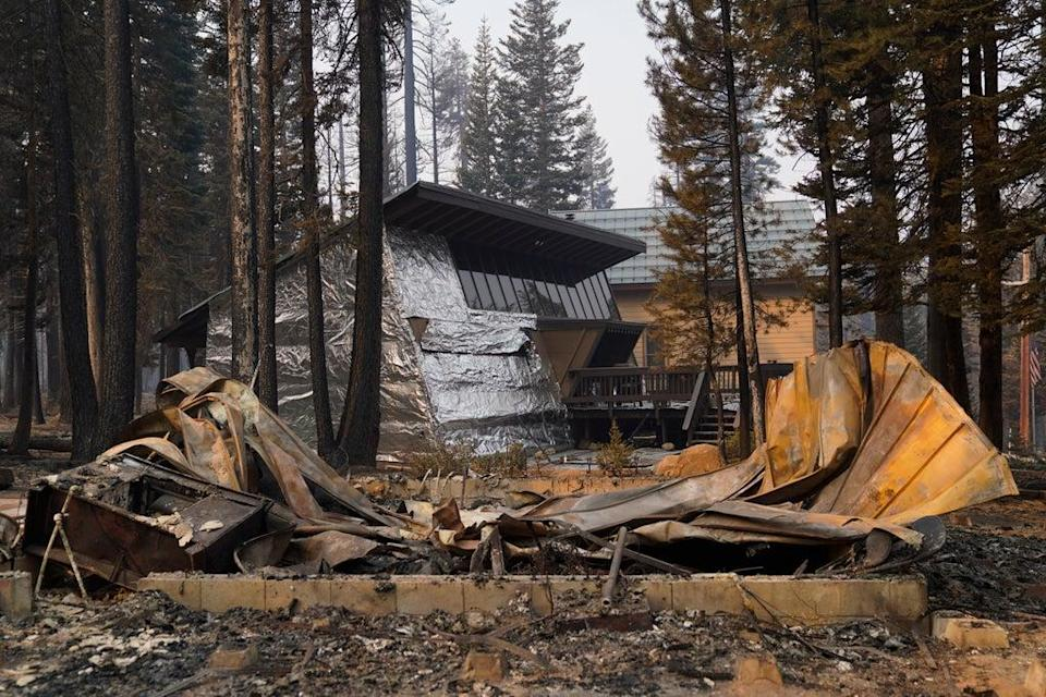 Wildfires-Aluminum Wrapped Homes (Copyright 2021 The Associated Press. All rights reserved.)