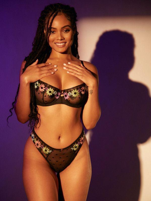 """<p><strong>Savage x Fenty</strong></p><p>savagex.com</p><p><strong>$64.95</strong></p><p><a href=""""https://go.redirectingat.com?id=74968X1596630&url=https%3A%2F%2Fwww.savagex.com%2Fshop%2Ffree-spirit-floral-embroidery-unlined-balconette-bra-ba2146078-1370-11441401&sref=https%3A%2F%2Fwww.womenshealthmag.com%2Fsex-and-love%2Fg35979300%2Fbest-affordable-lingerie-brands%2F"""" rel=""""nofollow noopener"""" target=""""_blank"""" data-ylk=""""slk:Shop Now"""" class=""""link rapid-noclick-resp"""">Shop Now</a></p><p>No lingerie list is complete without Rihanna's famous brand, whether we're talking about budget buys or the sexiest underwear out there, period. </p><p>Her underwear sets and sexy teddies are fun, flirty, and playful (you won't find any nude essentials here). The fact that most items are under $30 is just a beautiful bonus.</p>"""
