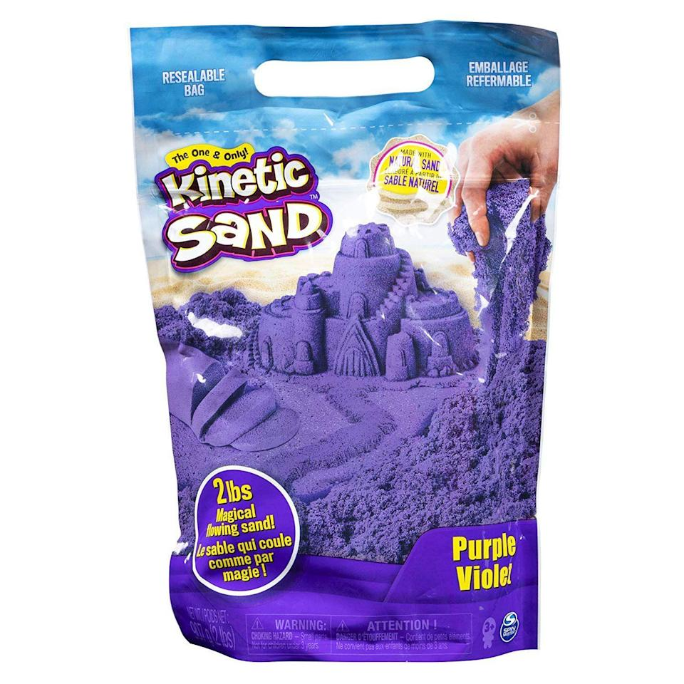 "<p><strong>Kinetic Sand</strong></p><p>amazon.com</p><p><strong>$9.99</strong></p><p><a href=""https://www.amazon.com/dp/B07GT5ZMZ1?tag=syn-yahoo-20&ascsubtag=%5Bartid%7C10055.g.4745%5Bsrc%7Cyahoo-us"" rel=""nofollow noopener"" target=""_blank"" data-ylk=""slk:Shop Now"" class=""link rapid-noclick-resp"">Shop Now</a></p><p>Playing with Kinetic Sand is mesmerizing: It always feels like the perfect, moldable wet sand you'd find at the best spot on the beach. It feels good just running through your fingers, so it's the perfect <a href=""https://www.goodhousekeeping.com/childrens-products/toy-reviews/g29309622/best-toys-gifts-for-3-year-old-boys/"" rel=""nofollow noopener"" target=""_blank"" data-ylk=""slk:gift for 3-year-old boys"" class=""link rapid-noclick-resp"">gift for 3-year-old boys</a> who love to dig into things with their hands. <em>Ages 3+</em></p>"