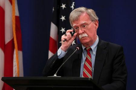 John Bolton: Putin Invited to Visit Washington in Early '19