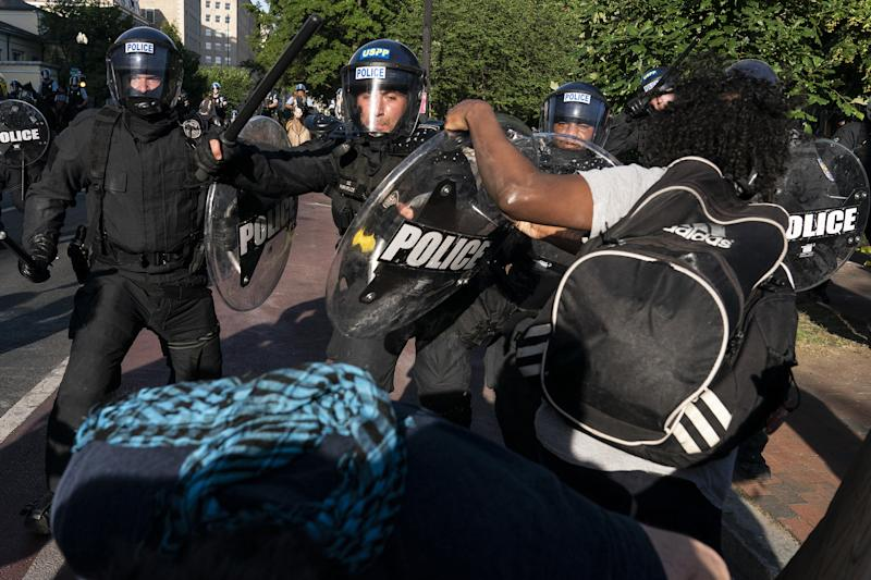 Image: D.C. protest against death of George Floyd (Joshua Roberts / Getty Images)