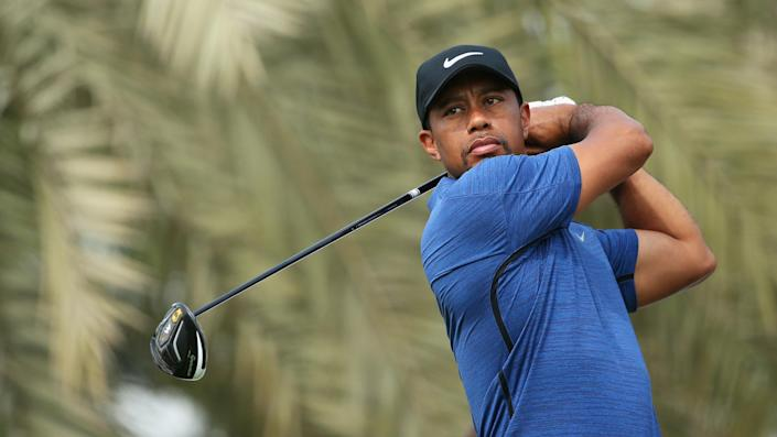 """<ul> <li><strong>Age:</strong> 45</li> <li><strong>Major wins:</strong> 15 (1997 Masters, 1999 PGA Championship, 2000 U.S. Open, 2000 British Open, 2000 PGA Championship, 2001 Masters, 2002 Masters, 2002 U.S. Open, 2005 Masters, 2005 British Open, 2006 British Open, 2006 PGA Championship, 2007 PGA Championship, 2008 U.S. Open, 2019 Masters)</li> <li><strong>Total Pro Wins:</strong> 109</li> </ul> <p>One of the biggest names in sports, Woods has put together a spectacular career and is considered either the best or second-best golfer (behind Jack Nicklaus) in history. His 15 majors are second only to Nicklaus' tally, and he held all four major Grand Slam trophies at once when he won the 2001 Masters. That might have been the single greatest stretch of domination in golf history. Woods piled up tons of endorsements, including everything from Nike to Rolex to Gillette. Although his career was sidetracked by injuries and scandal, Woods is still considered one of the top draws in sports.</p> <p><a href=""""https://www.gobankingrates.com/net-worth/sports/tiger-woods-net-worth/?utm_campaign=1106364&utm_source=yahoo.com&utm_content=25"""" rel=""""nofollow noopener"""" target=""""_blank"""" data-ylk=""""slk:See what his net worth sits at now."""" class=""""link rapid-noclick-resp"""">See what his net worth sits at now.</a></p> <div class=""""p-rich_text_section""""><b><i>More From GOBankingRates</i></b></div> <ul class=""""p-rich_text_list p-rich_text_list__bullet""""> <li><b><i><a class=""""link rapid-noclick-resp"""" rel=""""nofollow noopener"""" href=""""https://www.gobankingrates.com/retirement/planning/jaw-dropping-stats-state-retirement-america/?utm_campaign=1106364&utm_source=yahoo.com&utm_content=26"""" target=""""_blank"""" data-ylk=""""slk:Jaw-Dropping Stats About the State of Retirement in America"""">Jaw-Dropping Stats About the State of Retirement in America</a></i></b></li> <li><b><i><a class=""""link rapid-noclick-resp"""" rel=""""nofollow noopener"""" href=""""https://www.gobankingrates.com/saving-money/savings-advice/big-personal-goals-should-"""