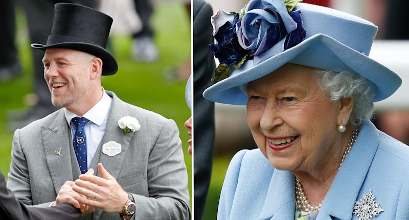 Mike Tindall and the Queen at Royal Ascot. [Photos: Getty]