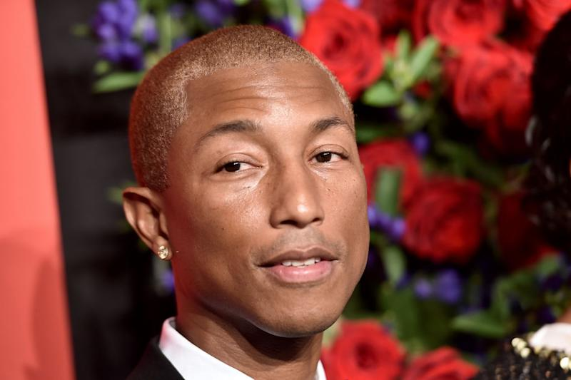 Pharrell Williams appears on the cover of this month's GQ magazine [Photo: Getty]