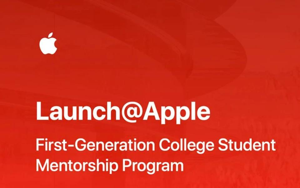 Apple's New Mentorship Program for First-Gen College Students