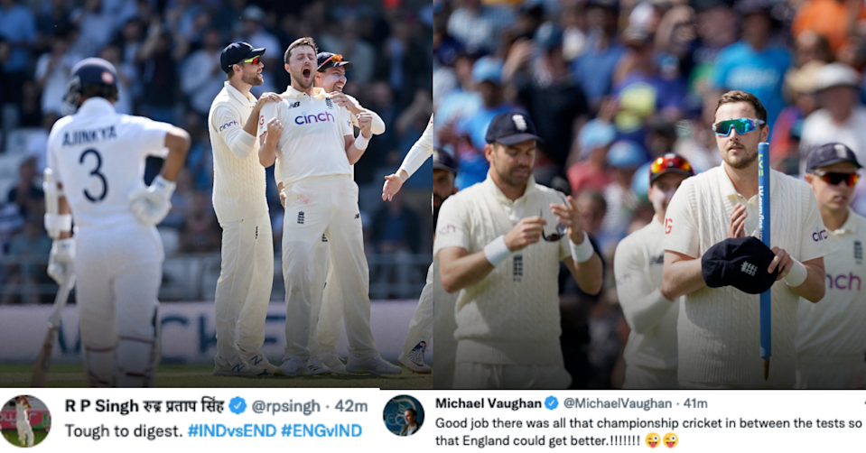 Twitterati Stunned By India's Collapse On Day 4 As England Level The Series 1-1