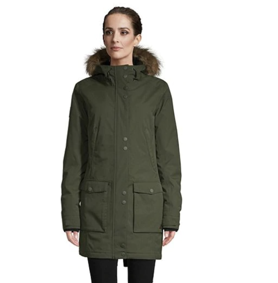 Ripzone Women's Liberty Insulated Parka is on sale at Sport Chek, $110 (originally $220).