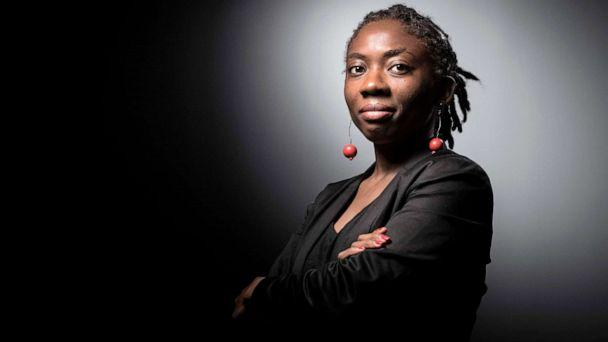 PHOTO: French leftist La France Insoumise (LFI) member of Parliament Daniele Obono poses during a photo session in Paris. (Joel Saget/AFP via Getty Images, FILE)