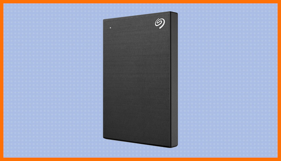 Save 31 percent—Seagate Backup Plus Slim 1TB External Hard Drive Portable. (Photo: Amazon)
