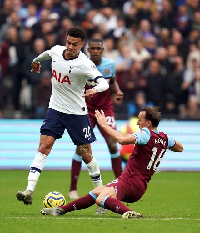 Dele Alli turned in one of his best performances of recent times (John Walton/PA)