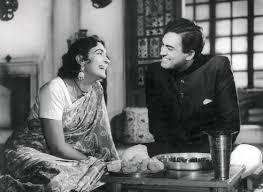 Nutan and Sanjeev Kumar in Devi