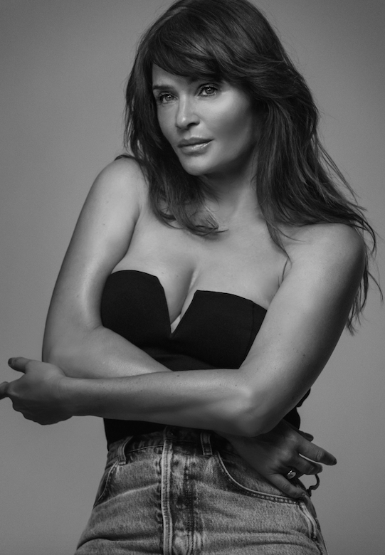 """<p>Following the success of their first outing, Helena Christensen has teamed up with Danish-born, LA-based designer Anine Bing on a second clothing collection - which has just landed in stores. </p><p>Christensen has long been a fan of the brand, she tells us, explaining that she's been shopping at the Anine Bing store near her New York apartment for years. """"It's actually where Anine and I first met; we just hit it off straight away,"""" she says. """"There are a lot of common interests, from our Danish heritage to art, photography and of course – fashion. The collaboration is something we've been talking about for a while and I'm really excited that it's finally here!""""</p><p>Of course, years of modelling and experience wearing the finest of fashion has given Christensen the perfect base from which to launch a clothing design project. """"More and more I am incredibly appreciative of all the knowledge I have absorbed during my years in the business,"""" she explains. """"In fact, I appreciate it even more now than I ever did. I realise I have been part of fashion history in a way that hardly anyone is; I've been so close to the real magic behind it all. I have learned so much from all the masters, the designers, the seamstresses, the photographers, the beauty teams, the creative teams. It's been the most incredible education.""""</p><p>The capsule collection features a mix of relaxed, easy-wear separates, basics and soft tailoring - all in a monochrome colour palette, making styling the pieces beautifully simple. And, of course, they are all items that could have come straight out of the supermodel's personal wardrobe. </p><p>""""I never really know how to describe my personal style,"""" she muses. """"I think because it isn't a certain style per se, more of a peculiar mix of all different kinds of styles. I think the fact that my mother is from Peru and my father is from Denmark has given me a love for quirky mixes. I really love organic, fluid lines and shapeless, comfortable designs, but """