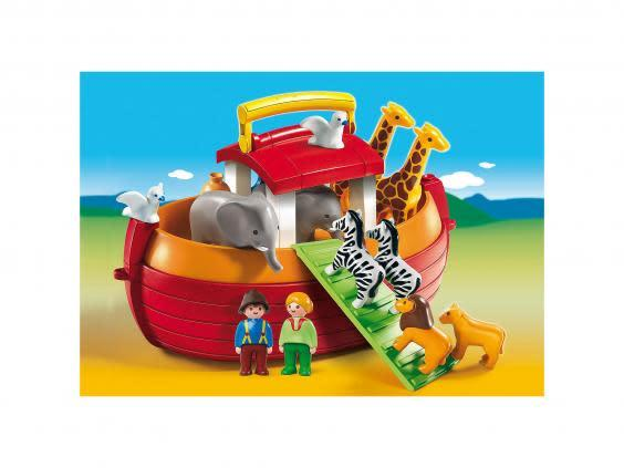 As well as entertaining them, Noah's ark is a great opportunity to teach them about the animals on board (Playmobil)