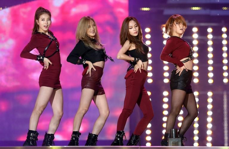 <p>Miss A performs at the third KPOP World Festival in Changwon on 20 October, 2013. (Photo: AFP) </p>