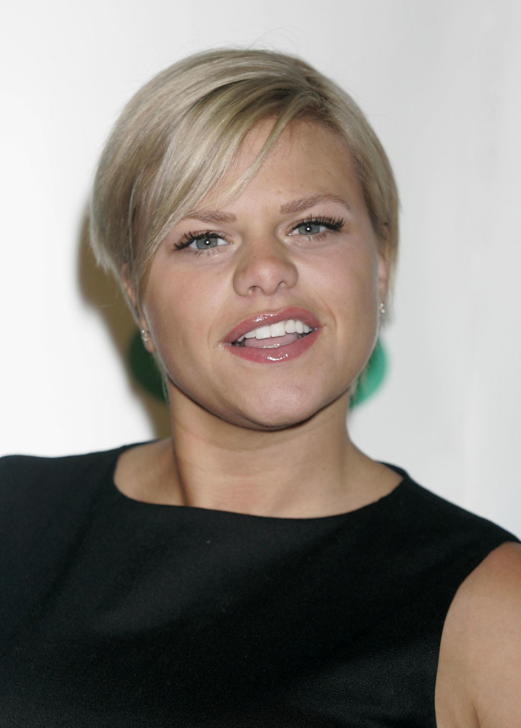 Jade Goody arrives for the Specsavers Spectacle Wearer of The Year Awards, at The Waldorf Hilton Hotel in central London.