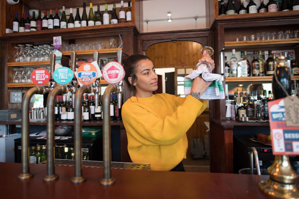 Pub staff have been among those badly affected (PA Wire)
