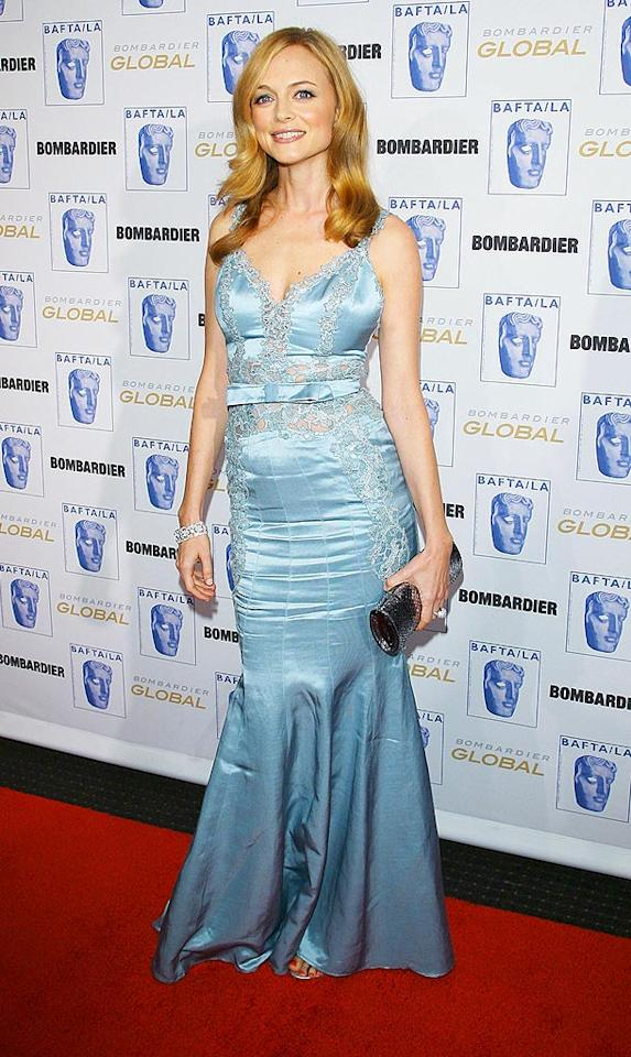"From Roller Girl to glamour girl, Heather Graham has certainly come a long way since winning us over in Paul Thomas Anderson's skinematic masterpiece, ""Boogie Nights."" Michael Tran/<a href=""http://www.filmmagic.com/"" target=""new"">FilmMagic.com</a> - November 6, 2008"