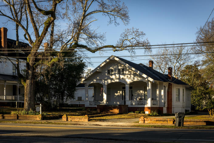 The law offices of W. McCall Calhoun in Americus, Ga., Feb. 8, 2021. (Audra Melton/The New York Times)