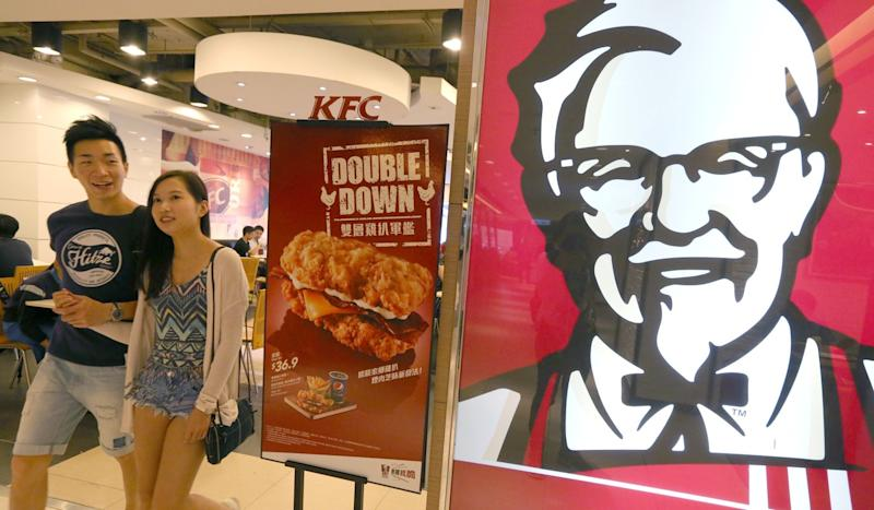 KFC to ditch plastic straws and drink lids for dine-in customers in all of its Hong Kong and Macau restaurants