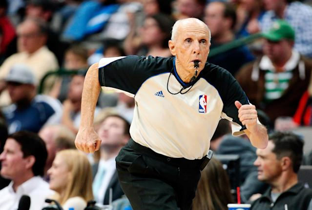 The 10-man rotation, starring Dick Bavetta, who never missed an assignment and who will be missed