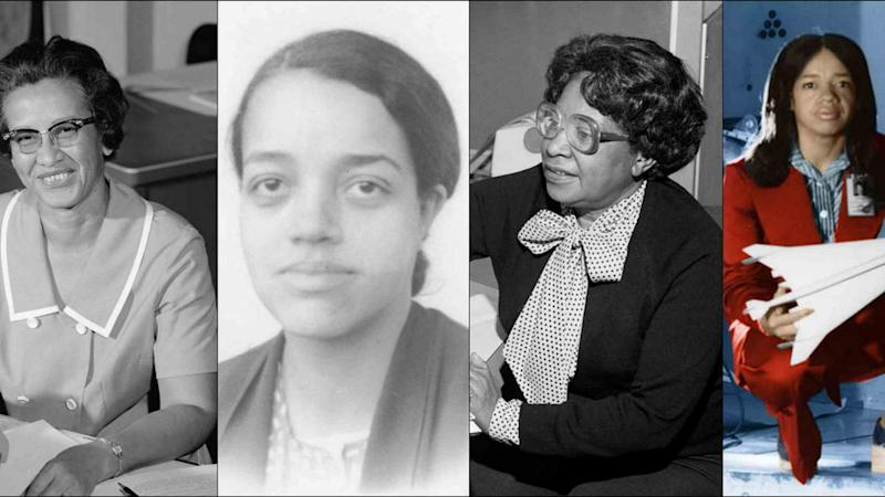 The four Africa-American women who will be awarded the Congressional Gold Medal as part of the Hidden Figures Congressional Gold Medal Act.
