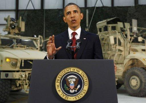 US President Barack Obama delivers an address to the American people on US policy and the war in Afghanistan