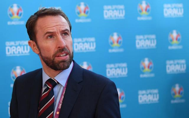 """Gareth Southgate has called on his players to seize their """"great chance"""" to finally end the nation's 52-year wait for a major trophy after England were granted a favourable-looking passage to the European Championships. England take on Czech Republic, Bulgaria, Montenegro and Kosovo next year and, should they qualify, are guaranteed at least two finals matches at Wembley. The stadium, one of 12 Euro 2020 host cities, has been ordered by Uefa to relay the pitch after concerns were raised about the playing surface. Reflecting on the Euro 2020 draw, Southgate said his squad must capitalise their opportunities over the next 18 months, which also sees them with a golden chance to win the first Uefa Nations League. England find out at 1.30pm on Monday whether they play Switzerland, Holland or Portugal in the semi-finals of the new contest. England's Euro 2020 qualification 