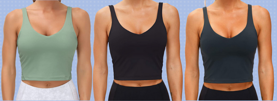 It's a sports bra and a top! (Photo: Amazon)