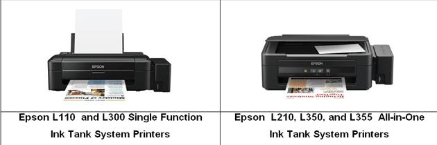 Epson Ink  Tank System prinkters