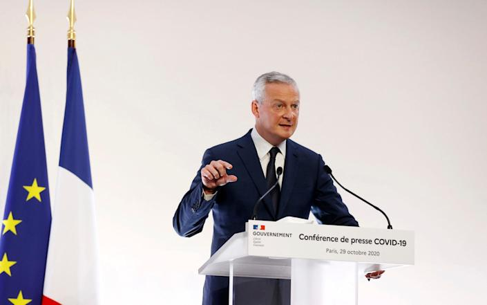 French Economy Minister Bruno Le Maire - Ian Langsdon