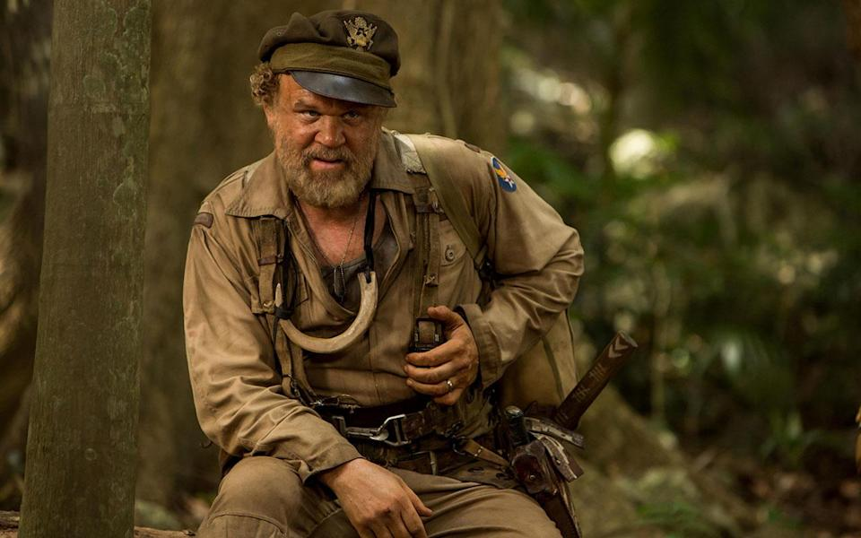 John C Reilly's character provides comic relief, but is also one of the most well-rounded in the film. (Warner Bros.)