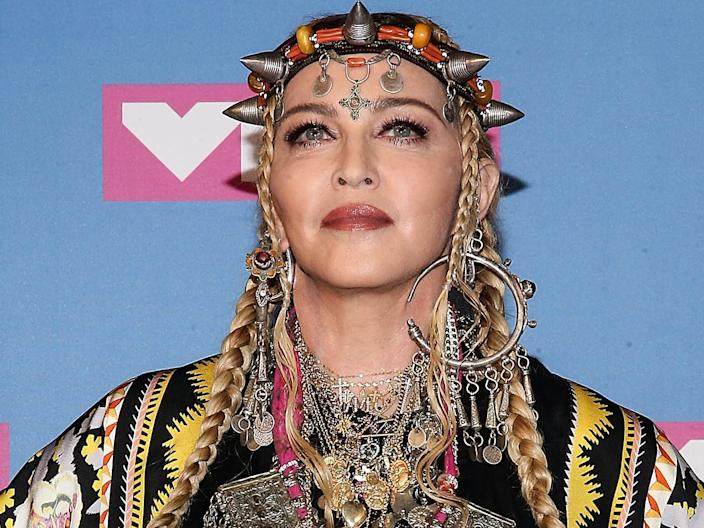Madonna in 2018.