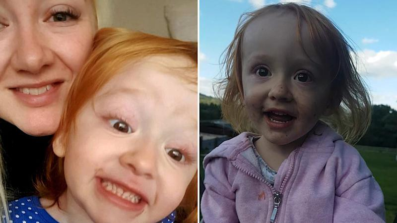 Aoife pictured left with her mum Eilish, and on her own right. She died from germ cell cancer. Source: Facebook.