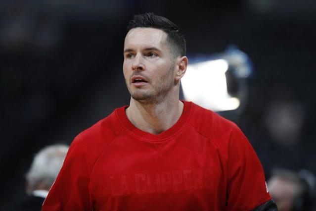 "<a class=""link rapid-noclick-resp"" href=""/nba/players/4139/"" data-ylk=""slk:J.J. Redick"">J.J. Redick</a> is taking President Trump very seriously and probably literally. (AP)"