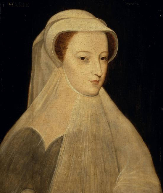 Mary, Queen of Scots via Wikimedia Commons