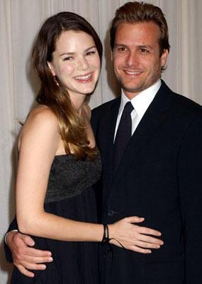 Jacinda Barrett and Gabriel Macht 2004 Hollywood Film Awards Bevery Hills, CA - 10/18/2004