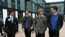 "<p>Despite their best efforts, William, Simon, Jay, and Neil just can't seem to get in with the cool crowd at Rudge Park Comprehensive. Even if you didn't attend British public school, it's easy to relive the emotional roller coaster of high school through this show, which follows the lives of the four suburban teenagers. </p><p><strong>How to Watch:</strong><em> The Inbetweeners </em>is available on <a href=""https://www.netflix.com/title/70157196"" rel=""nofollow noopener"" target=""_blank"" data-ylk=""slk:Netflix"" class=""link rapid-noclick-resp"">Netflix</a>.</p>"