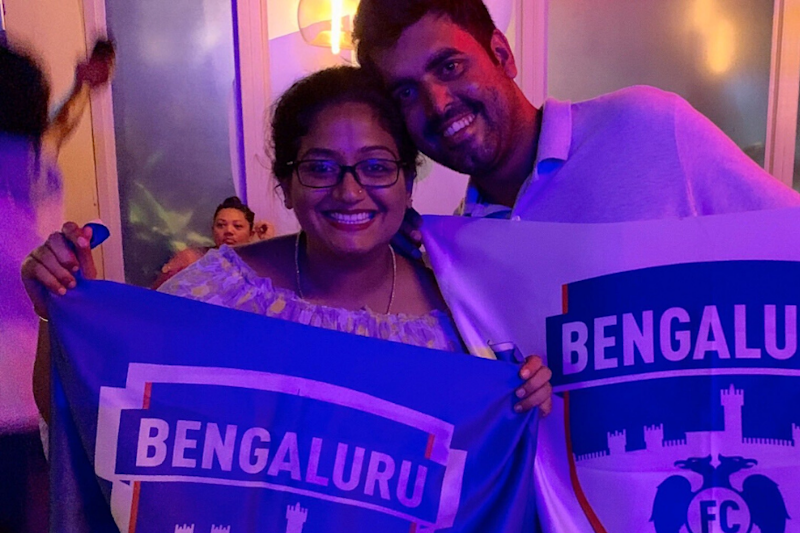 Pregnant Bengaluru FC Fan Welcomed to Owner's Box After She Sought Permission to Carry Hot Water