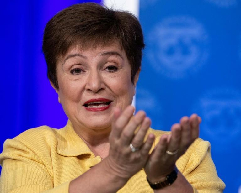 IMF Managing Director Kristalina Georgieva's upbeat comments on US stimulus come despite an ongoing deadlock over passing a new measure between Democrats and Republicans in Washington