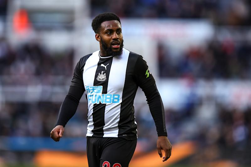 NEWCASTLE UPON TYNE, ENGLAND - FEBRUARY 29: Danny Rose of Newcastle United during the Premier League match between Newcastle United and Burnley FC at St. James Park on February 29, 2020 in Newcastle upon Tyne, United Kingdom. (Photo by Robbie Jay Barratt - AMA/Getty Images)