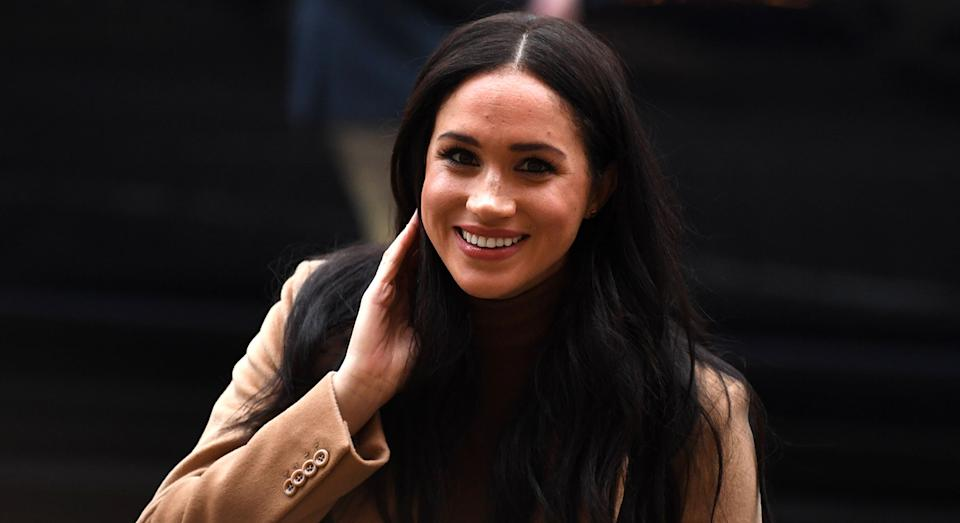 Meghan Markle has been spotted out for a walk with Archie in Canada. [Photo: Getty]