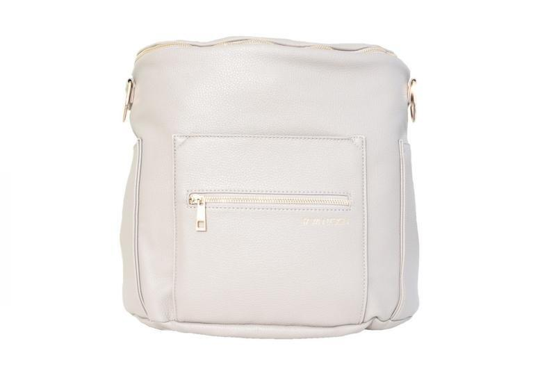 """<p>A backpack is about to become her best friend: Not only will it keep her hands free (<em>to, you know, hold a newborn</em>), but it will also carry all of a baby's necessities in style. <em>(Gray Backpack, $159.99, <a rel=""""nofollow"""" href=""""https://fawndesign.com/collections/bags?mbid=synd_yahoostyle"""">Fawn Design</a>)</em></p>"""