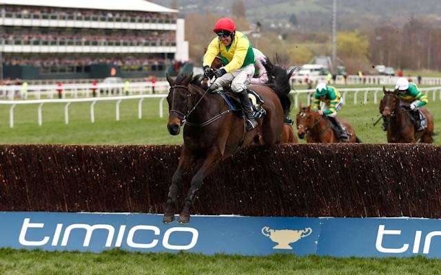 <span>Sizing John hits the front and takes the last</span> <span>Credit: REUTERS </span>