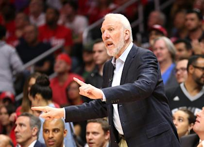 Gregg Popovich was an assistant during the 2004 Olympics. (Getty Images)