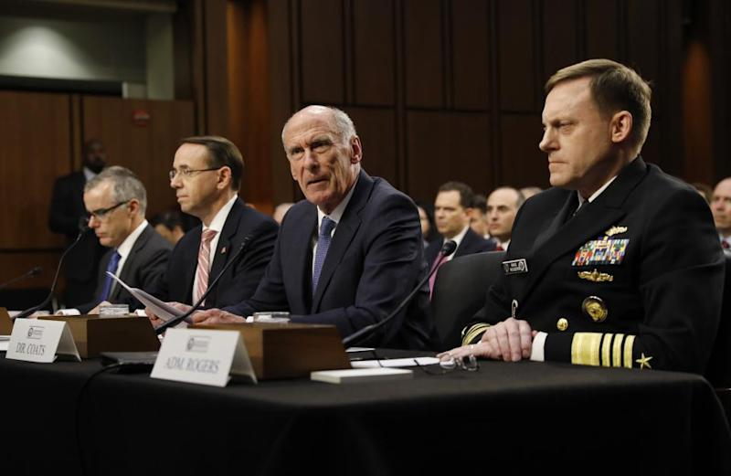 Trump-Russia: U.S. Intelligence Chiefs Say President Told Them to Deny Campaign Collusion